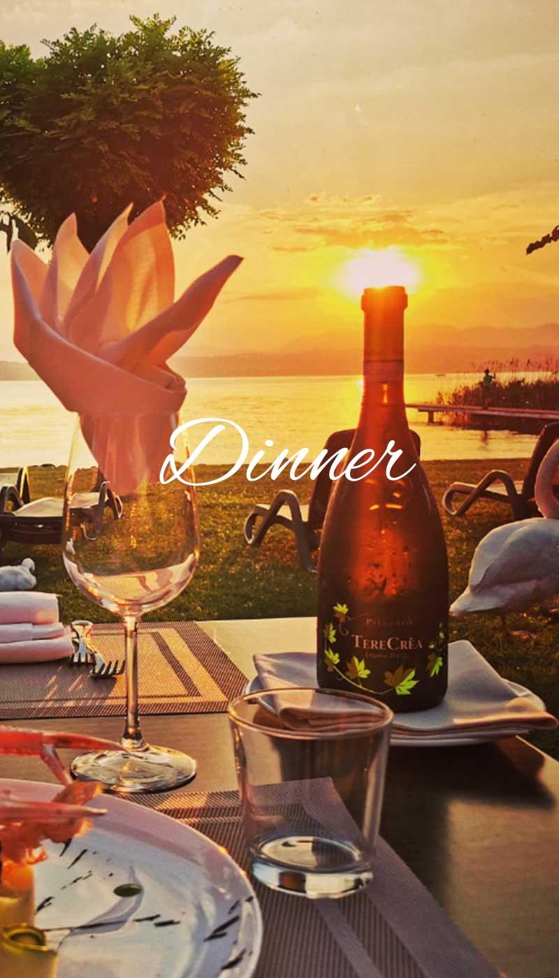 ristorante sul lago di garda